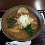 聖籠地場物産館 お食事コーナー - 料理写真:魚だしの中華そば