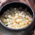 79137359 - 大根の土鍋炊き込みご飯