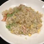 中国料理 龍鱗 - 蟹レタス炒飯