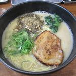 らーめん 次男坊 - 白豚らー麺(クリーミー塩豚骨)
