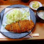 万喜 - 料理写真:ロースカツ定食