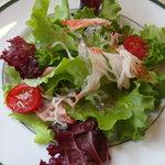 パパマリーノ - 自家栽培のサラダです!