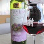 ぶどうの丘 展望ワインレストラン - 赤ワイン 白百合醸造 ベーリーA