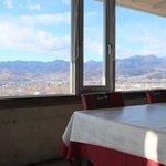 ぶどうの丘 展望ワインレストラン - レストランの展望