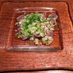 鳥良 - 砂肝のゴマ塩530円