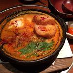 鳥良 - 鶏ツクネキムチ鍋951円