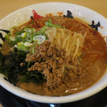 味噌ノ頂 - 料理写真:あっさり辛味噌らーめん750円(税別)