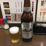 前之園 - スーパードライ大瓶 380円