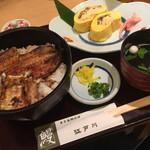 江戸川 - うなぎ丼とう巻ハーフ注文しました!