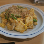 隼 - ゴーヤと島豆腐のチャンプルー
