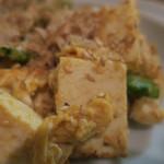 隼 - ゴーヤと島豆腐のチャンプルー ズームアップ