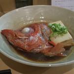 隼 - 金目鯛カブトと豆腐の煮つけ