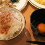 79141503 - 紀州うめどりの玉子かけご飯 お米は熊野産