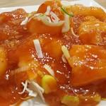 晴晴飯店 - 料理写真:エビのチリソース
