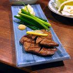 徳田酒店 御肉 - 厚切りたん塩¥490 2017.9.27