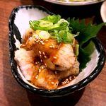 徳田酒店 御肉 - 丸ちょう味噌だれ¥420 2017.9.27