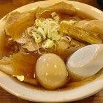 79146414 - チャーシューメン(麺大盛り+味玉) 【料理】
