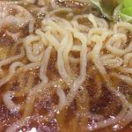 幸楽苑 - 麺アップ