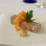 フランス料理 ル・トリアノン - 自家製パテ ド カンパーニュ マスタードとキャロットラペ