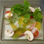 フランス料理 ル・トリアノン - サラダ ジャルダン(畑の情景)