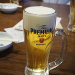 蛸の壺 - 生ビール