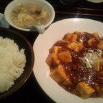 7915459 - 麻婆豆腐定食