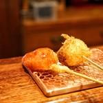 串かつ あーぼん - ☆イチゴとバナナ