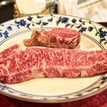 くいしんぼー山中 - 料理写真:サーロインとフィレ肉