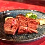 くいしんぼー山中 - ☆フィレ肉のステーキ 130g