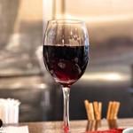 くいしんぼー山中 - ☆グラスワインの(赤)