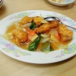 中華料理天鳳 - 酢豚