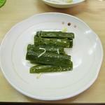 中華料理天鳳 - 胡瓜の甘酢