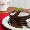 エッグスンシングス - 料理写真:期間限定!フォンダンショコラ パンケーキ
