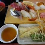 79155646 - 寿司・天ぷらランチ¥1,200-