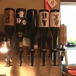 家庭料理地酒 蔵 - 本日の焼酎