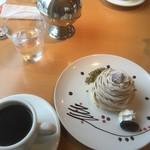 コヘ カヘ - 料理写真:コーヒー・モンブラン
