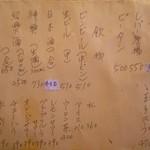 79159562 - ポン太 ドリンク&つまみメニュー
