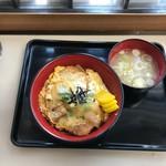 君塚 - カツ丼(430円)