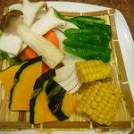 米沢亭 - 野菜焼