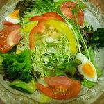 米沢亭 - シーザーサラダ(500円)
