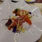 ビストロ ダイア - オマールエビとル・レクチェの絶品サラダ仕立て