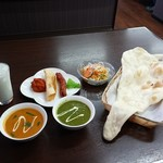 インド・ネパール料理 エベレスト - タンドリーMIXセット