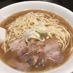自家製麺 伊藤 - 肉そば、中盛り
