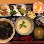 【当店自慢】茶わん蒸しセット(高菜のせ)