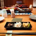 つばき食堂 - お通し3品