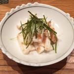 つばき食堂 - 長芋の梅和え
