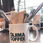 タジマコーヒー - 木漏れ日がやさしい(*´-`)