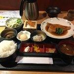 79167457 - 煮魚定食。