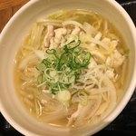宙寅屋 - 2018/1/6 ディナーで利用。 鶏ゆず麺(880円+税)