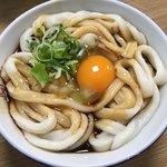 駒鳥食堂 - 料理写真:伊勢うどん+生玉子